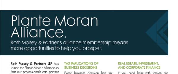Plante Moran Alliance